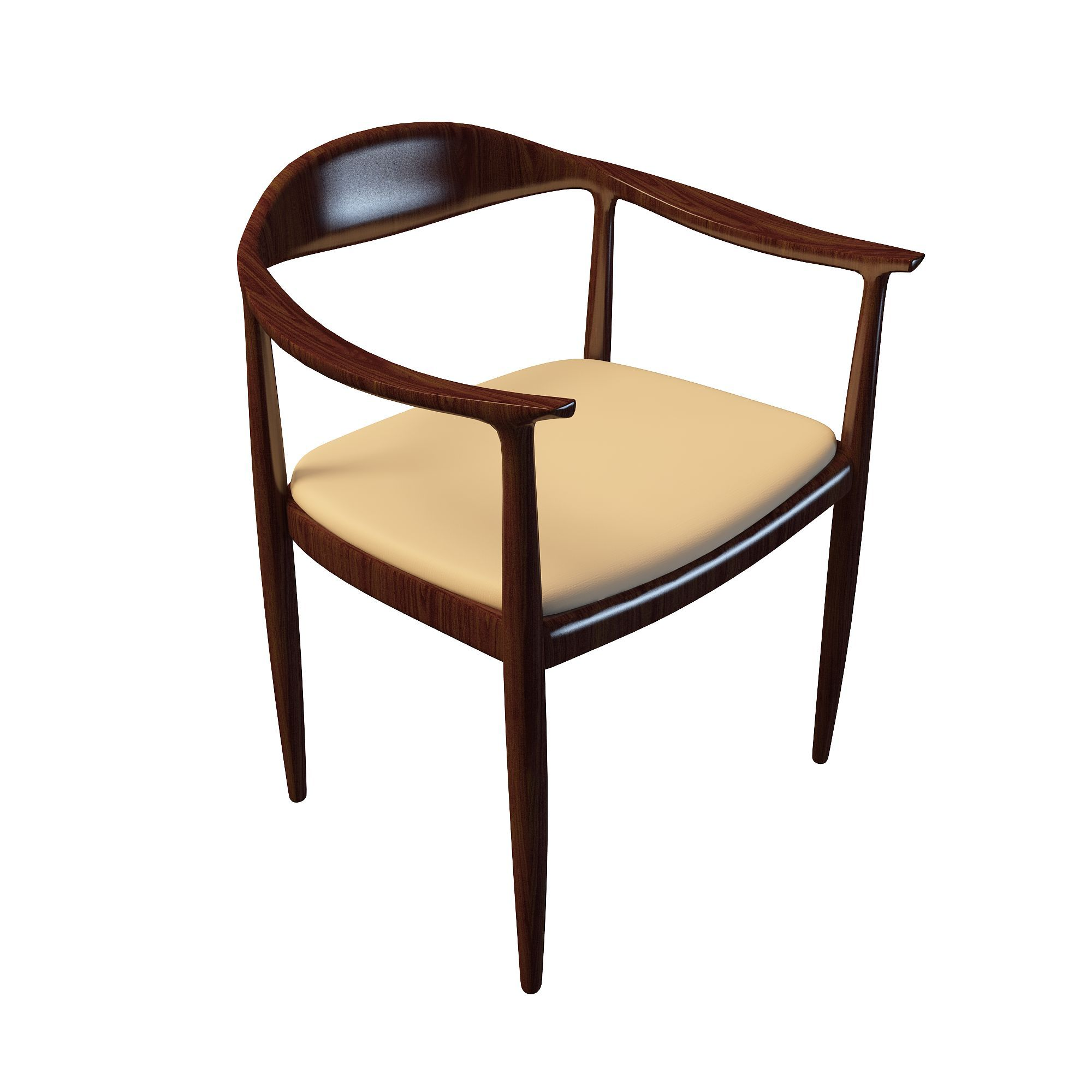 实木休闲椅高清图下载