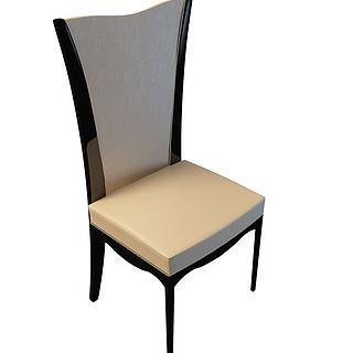 餐厅<font class='myIsRed'>餐椅</font>3d模型