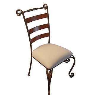 现代<font class='myIsRed'>餐椅</font>3d模型