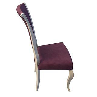 豪华<font class='myIsRed'>餐椅</font>3d模型