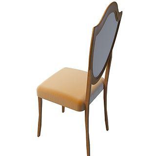 布艺<font class='myIsRed'>餐椅</font>3d模型