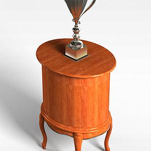 奖杯桌模型3d模型