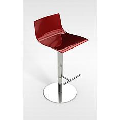 红色升降吧台椅3D模型3d模型