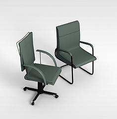 办公会议椅3D模型3d模型