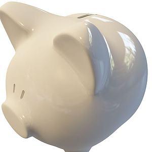 存錢罐模型3d模型