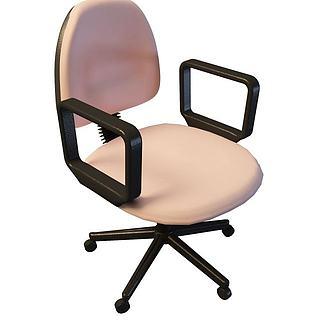 公司电脑椅3d模型