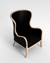 高档沙发椅3D模型3d模型