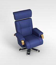 <font class='myIsRed'>人体</font>工学老板椅3d模型