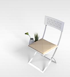 3d折叠椅模型