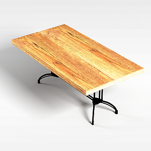 饭桌子模型