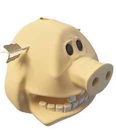 3d<font class='myIsRed'>猪</font>装饰品模型