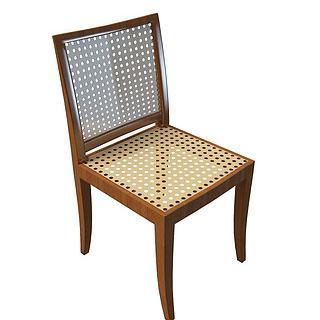 实木镂空椅3d模型