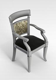 3d扶手椅模型