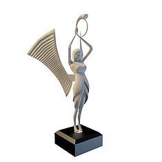 人物雕塑3D模型3d模型