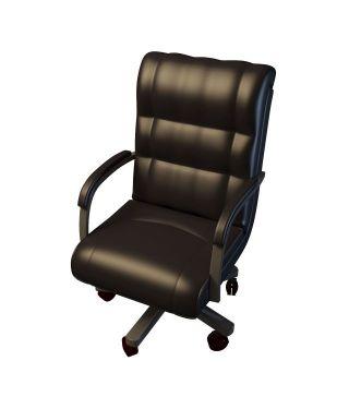 办公室老板椅图片
