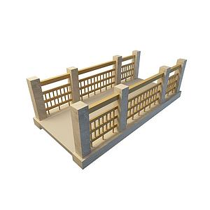 3d橋模型