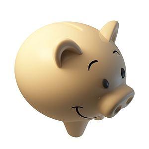 存钱罐模型3d模型