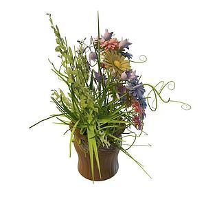 花瓶免费3d模型