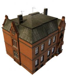 别墅3d模型