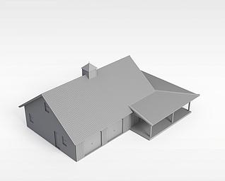 3d住宅楼模型