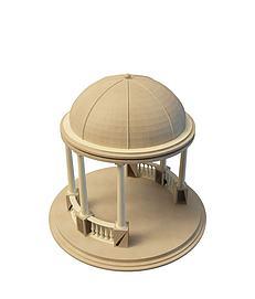 3d凉亭模型