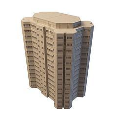 住宅楼模型3d模型