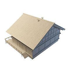 居民楼模型3d模型