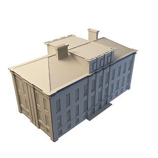 楼3d模型