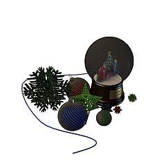 饰品模型3d模型