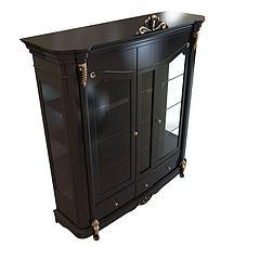 高档古典酒柜模型3d模型