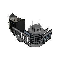 商住楼3D模型3d模型