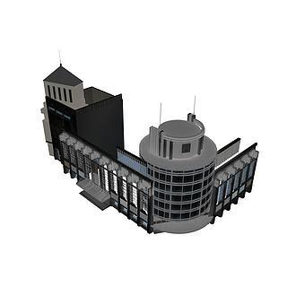 商住楼3d模型