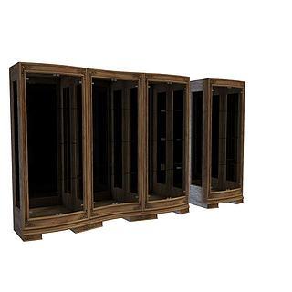高档欧式柜子3d模型