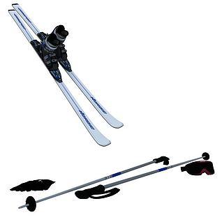 滑雪橇3d模型