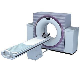 CT扫描机3d模型