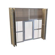 精致的门窗组合3D模型3d模型