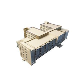 商业楼3d模型