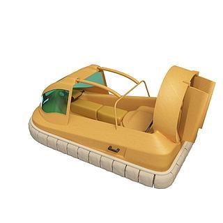 气垫<font class='myIsRed'>船</font>3d模型