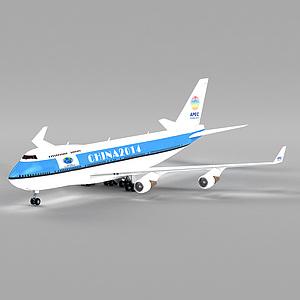 3d飛機模型