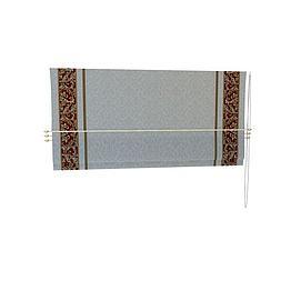 3d罗马帘模型