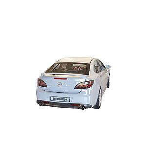 白色汽车3d模型