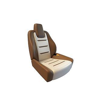 车座椅3d模型