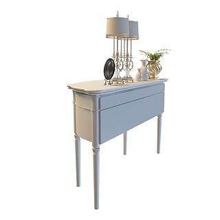 欧式风格桌子3d模型