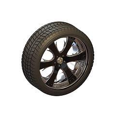 轮胎模型3d模型