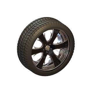 轮胎3d模型