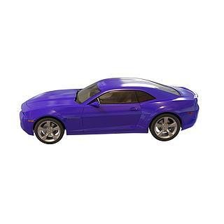 蓝色<font class='myIsRed'>汽车</font>3d模型