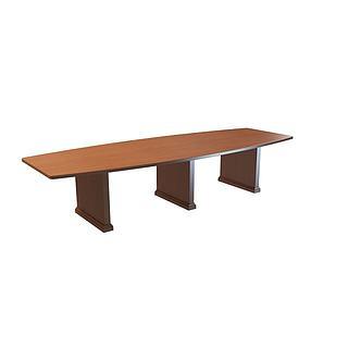 公司会议桌3d模型