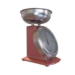 彈簧秤模型3d模型