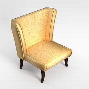 3d<font class='myIsRed'>酒店沙发</font>餐椅模型