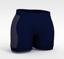 3d短裤模型